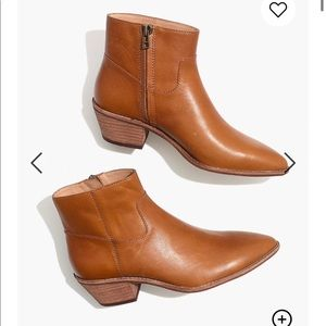 Brand New Madewell Charley Leather Boot
